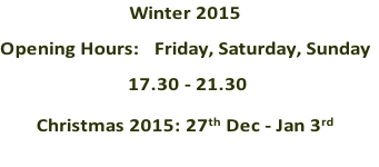 Winter 2015 